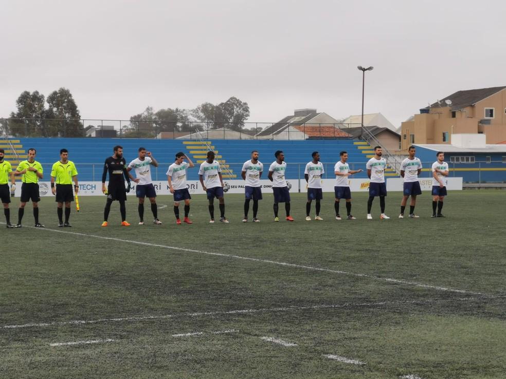 Prudentópolis usa material do Athletico contra o Sãojoseense ?- Foto: Prudentópolis/Divulgação