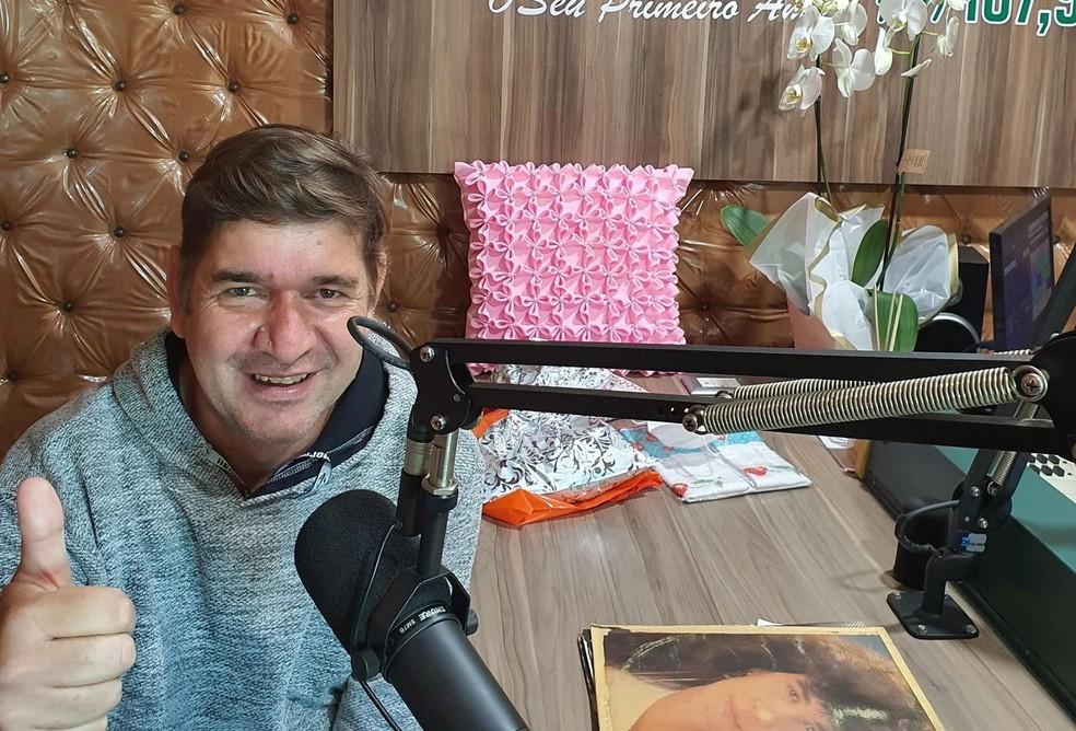 Antônio Beckhauser trabalhava como radialista há mais de 20 anos ?- Foto: Rádio Difusora