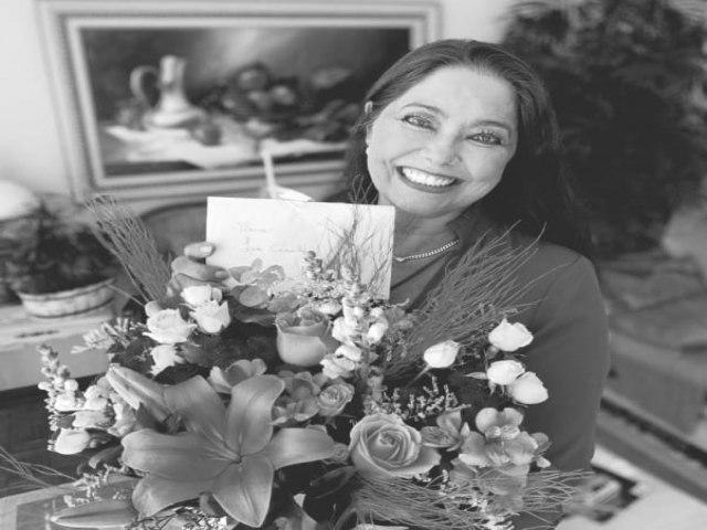 Dona Lia esposa do médico Dr. Marcos Ceschin e mãe do vereador Renan Ceschin faleceu nesta sexta-feira (Foto: Arquivo Família)